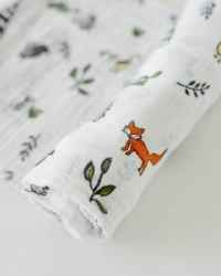 Muslin Swaddle Forest Friends