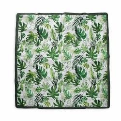 Outdoor Blanket 5x5 Tropical Leaf