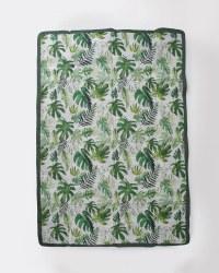 Outdoor Blanket 5x7 Tropical Leaf