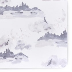 Crib Sheet Jersey Misty Mountain