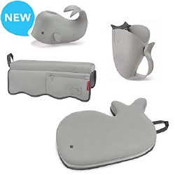 Moby Bathtime Essentials Grey