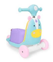 Zoo 3-in-1 Ride-On Toy Unicorn