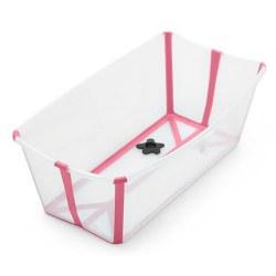 Flexi Bath Transparent Pink