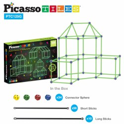 Fort Building Kit 125 pc Glow