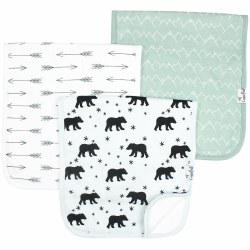 Burp Cloths Archer