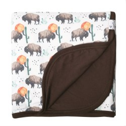 3 Layer Quilt Bison