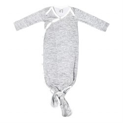 Newborn Knotted Gown Asher