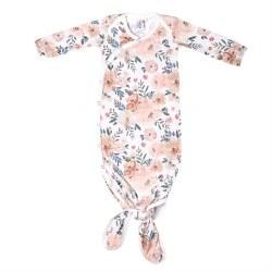 Newborn Knotted Gown Autumn