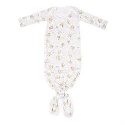 Newborn Knotted Gown Chip