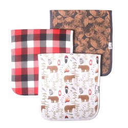 Burp Cloths Lumberjack