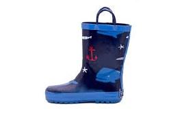 Rain Boots Nautical 1Y