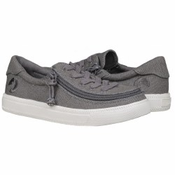 Classic Lace Grey Canvas 4Y
