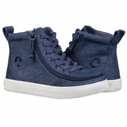 High Top Denim Glitter 4Y