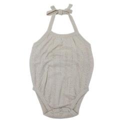 Crossback Bodysuit Stone 6-9m