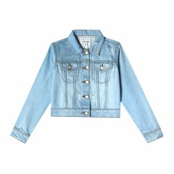 Mini Nalia Jacket Blue Wash 24m
