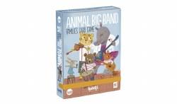 Animals Big Band Family Card G