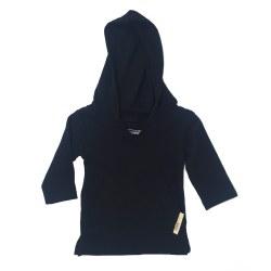 Hoodie Black 12-18m