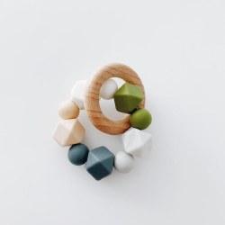 Multi Ring Teether Grey