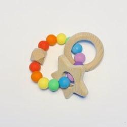 Rainbow Baby Teether