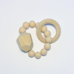 Gem Ring Teether Natural