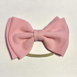 Baby Skinny with Big Bow Pink