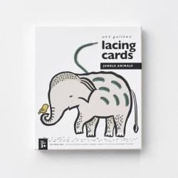 Lacing Cards Jungle Animals