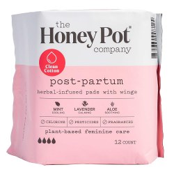 Postpartum Herbal Pads 12 pk