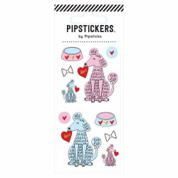 Poodle Love  Sticker Sheet