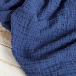 Muslin Blanket Navy