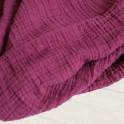 Muslin Blanket Red Plum