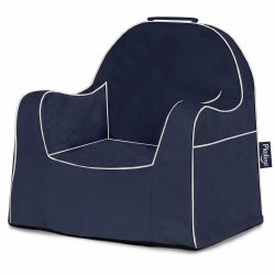 Little Reader Chair Navy - Pickup Only
