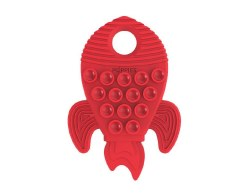 Poppies Teether Red Rocket
