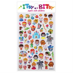 Itsy Bitsy Stickers Fairy Tale
