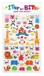 Itsy Bitsy Stickers Animal World