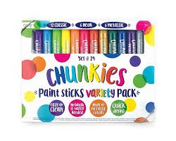 Chunkies Paint Sticks 24 piece
