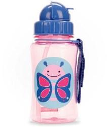 Straw Bottle Butterfly