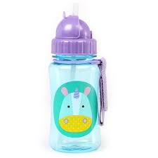 Straw Bottle Unicorn
