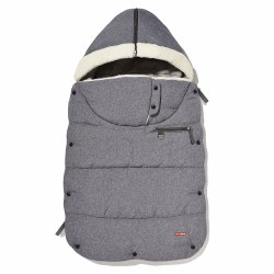 3 Season Footmuff Toddler Grey