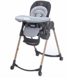 Minia 6-in-1 Adjustable High Chair Essential Grey