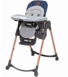 Minia 6-in-1 Adjustable High Chair Essential Blue
