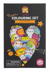 Coloring Set Glow Friends