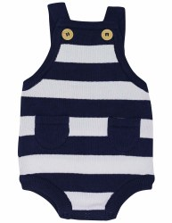 Whale Sunsuit NB
