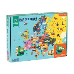 Map of Europe Puzzle