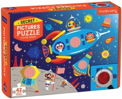 Outer Space 42pc Secret Puzzle