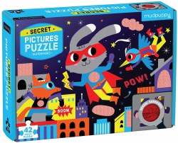 Super Hero 42 Pc Secret Puzzl