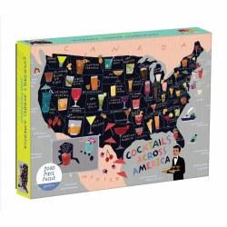 Cocktails Across America Puzzle