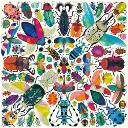 Kaleido Beetles 500 Piece Puzz