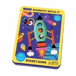 Rocket Ships Magnetic Build-it