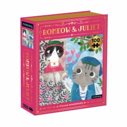 Romeow and Juliet Bookish Cats Puzzle