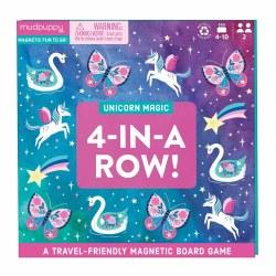 Unicorn Magic 4 in Row Game